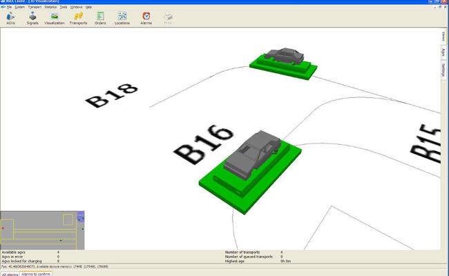 MAX AGV 3D Visual