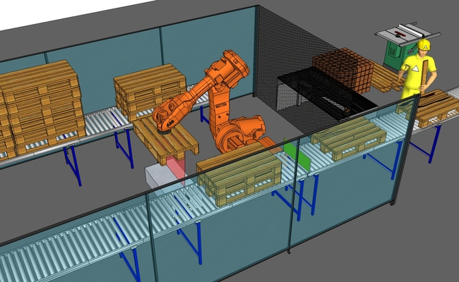 SoftVision® Pallet Controll